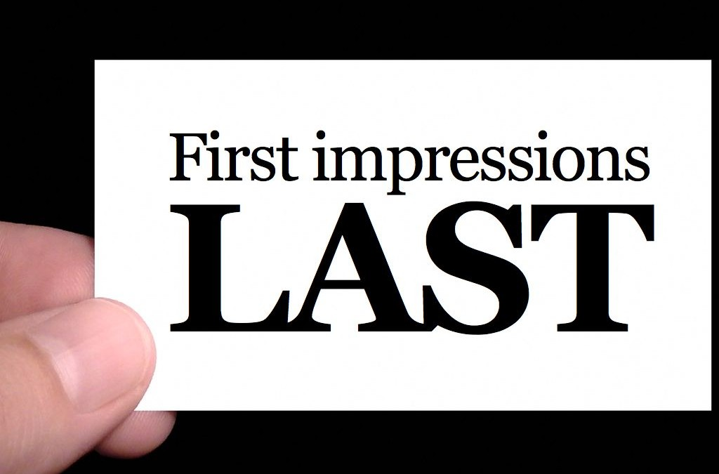 Want to increase your sales? Use these (4) tips to improve your first impressions.