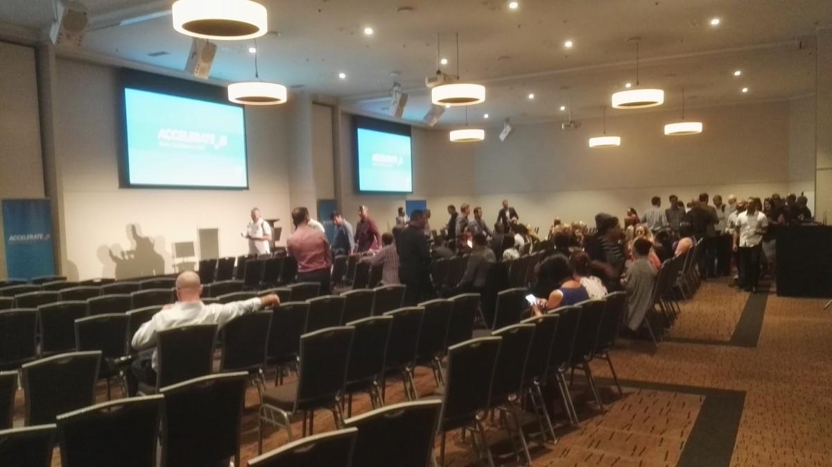 2degrees sales conference presentation design production